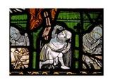 Window N2 Depicting the Resurrection - a Soldier Wakes Giclee Print