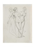 Three Graces, Study Giclee Print by Félix Vallotton
