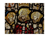 Window Nw Depicting St Martin Enthroned as a Bishop Giclee Print