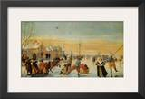 Sledding and Ice Skating Prints by Hendrick Avercamp