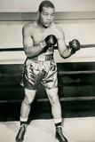 Joe Louis Boxing Pose Sports Poster Photo