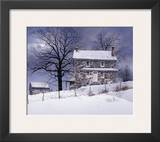 One Candle Framed Giclee Print by Ray Hendershot