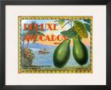 Deluxe Avacados Posters by Miles Graff