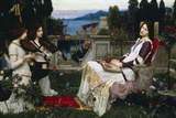 John William Waterhouse Saint Cecilia Poster Posters