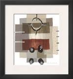 Horizontal Framed Giclee Print by P. G. Gravele