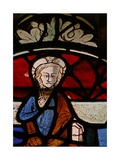 Window N6 Depicting Christ in Majesty Giclee Print