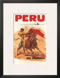 Panagra Pan American-Grace Airways: Peru, c.1946 Prints by Carlos Ruano-Llopis
