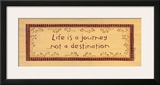 Life is a Journey Posters by Karen Tribett