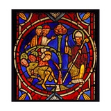 Depicting St Martin - and the Miracle of the Pine Tree (Ex Varennes-Jarcy - Originally from the… Giclee Print