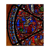 Window W100 Depicting the Martyrdom Ofst Barbara Giclee Print