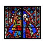 Window W5 Jephthah Meets His Daughter. Judges Xi 34-35 Giclee Print