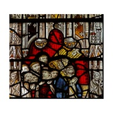Window Nw Depicting St Martin Kneels at an Altar Giclee Print