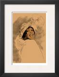 Bessy Smith Framed Giclee Print by Clifford Faust