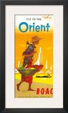 BOAC, Fly to the Orient c.1950's Prints