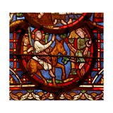 Window W0 Depicting the Entry into Jerusalem Giclee Print