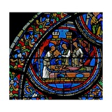 Window W23 Depicting the Burial of St Thomas Becket Giclee Print