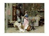 The Mandolin Shop Giclee Print by Vincenzo Capobianchi