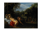 Apollo and Coronis, 1607-08 Giclee Print by Adam Elsheimer