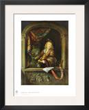 The Violonist at the Window Posters by Gerard Dou
