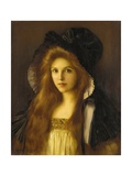 Beautiful Betty Giclee Print by Albert Lynch