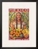 Direccion General de Turismo: Mexico - Plenty of Fruit Art by Jorge Gonzalez Camarena