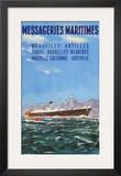 Mess Maritimes - Marseille Antilles Prints by  Gachons