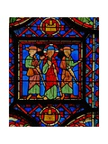 Window W8 the Resurrection Cycle - the Road to Emmaus Giclee Print
