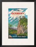 Pan American: Germany der Rhine, c.1950s Prints