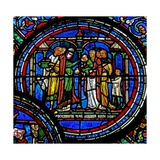Window W23 Depicting St Thomas Becket Confirming Children Giclee Print