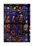 Window W08 Depicting the Mass of St Martin Giclee Print