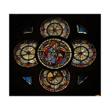 Window W16 Depicting an Angel Giclee Print