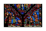 Window W0 Depicting Five Artisan Donors Giclee Print