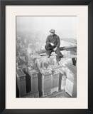 Worker on Skyscraper Beam, 1929 Posters