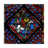 Window W2 Pharoah's Army Pursues the Israelites Ex Xiv 8 Giclee Print