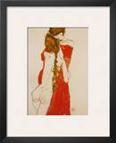Mother and Daughter, c.1913 Prints by Egon Schiele