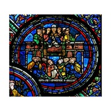 Window W23 Depicting St Thomas Becket Preaching Giclee Print