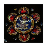 Window W16 Depicting Christ of the Last Judgement Giclee Print