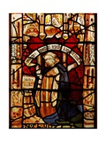Window Nw Depicting a Donor - Robert Semer Giclee Print