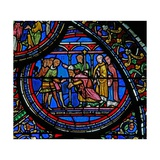 Window W23 Depicting the Murder of St Thomas Becket Giclee Print