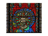 Window W9 Depicting Pepin the Short Giclee Print