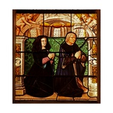 Window W29 Depicting Donors - Isabeau De Chantepinot and Alexandre Baulet Giclee Print