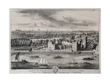 Lambeth, His Grace the Archbishop of Canterbury's Palace, Engraved by I. Kip Giclee Print by Leonard Knyff