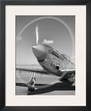 Spinning propeller Poster by Gordon Osmundson