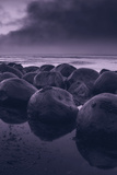 Moody Bowling Ball Beach Photographic Print by Vincent James