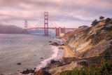 Dreamy Walk to Golden Gate Photographic Print by Vincent James