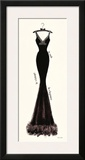 Couture Noir Original I Posters by Emily Adams