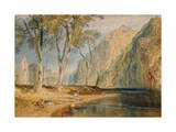Bolton Abbey, C.1825 Giclee Print by J. M. W. Turner