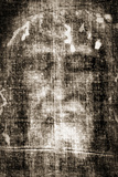 Shroud of Turin Face Detail Plastic Sign Plastic Sign