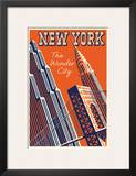 NY The Wonder City Posters
