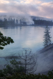 Morning Riverside, Yellowstone Photographic Print by Vincent James